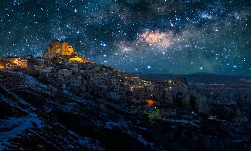 Starry Night in Turkey
