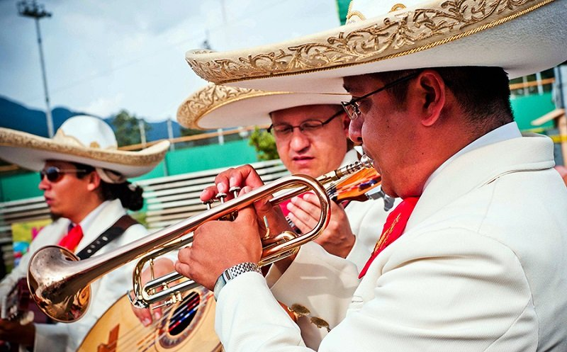 Mexican Musicians Celebrate