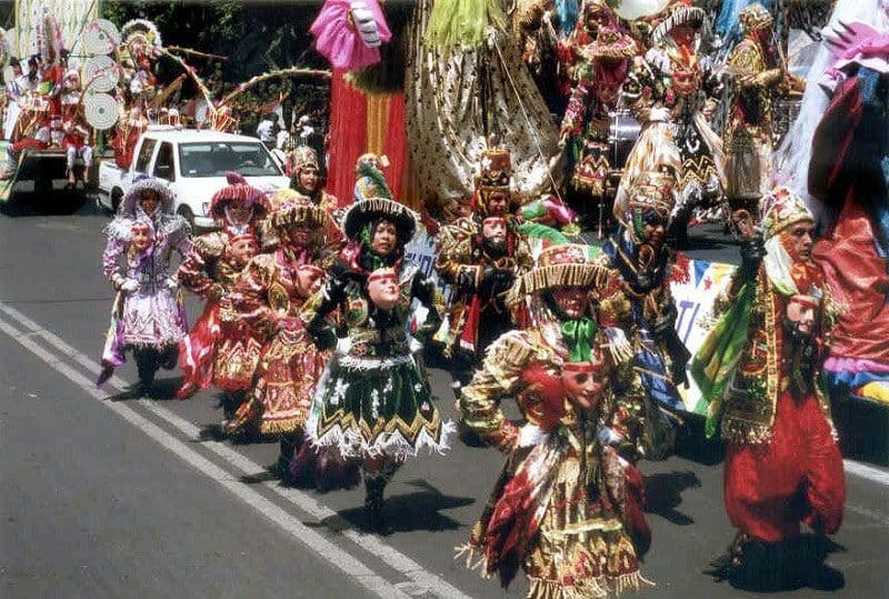 Celebration in Puebla, Mexico