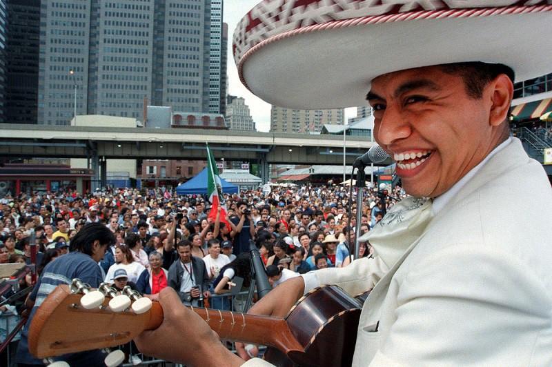 Ramon Ponce Celebrates