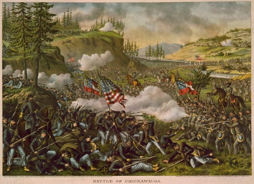 Chickamauga Battle