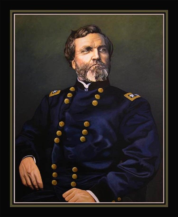 George Henry Thomas Portrait
