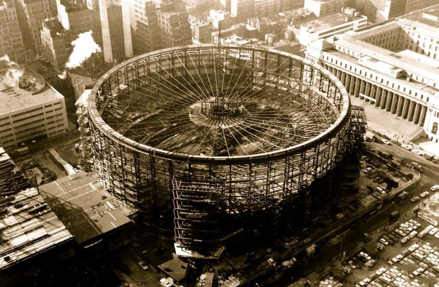 Construction Madison Square Garden