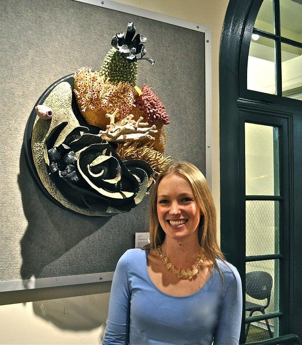 Courtney Mattison Portrait Coral Artwork