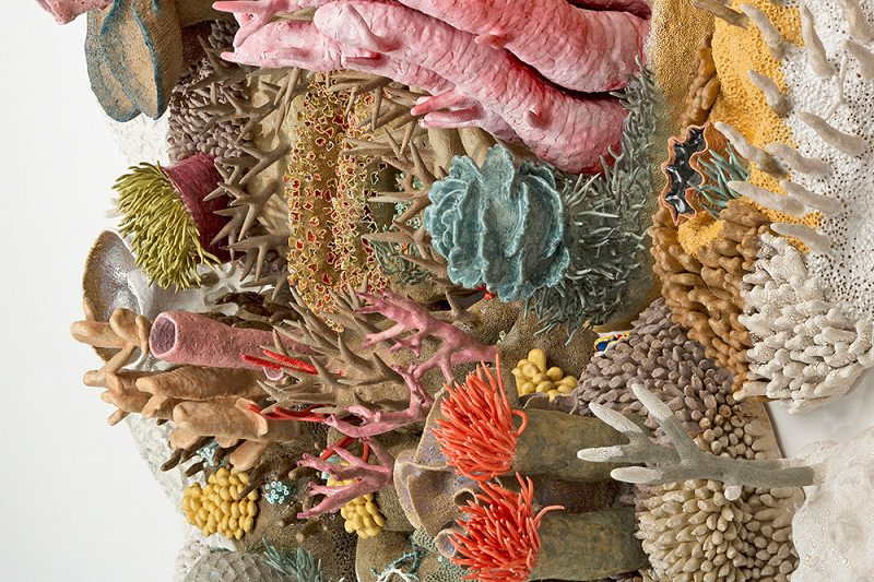 Our Changing Seas III Coral Artwork