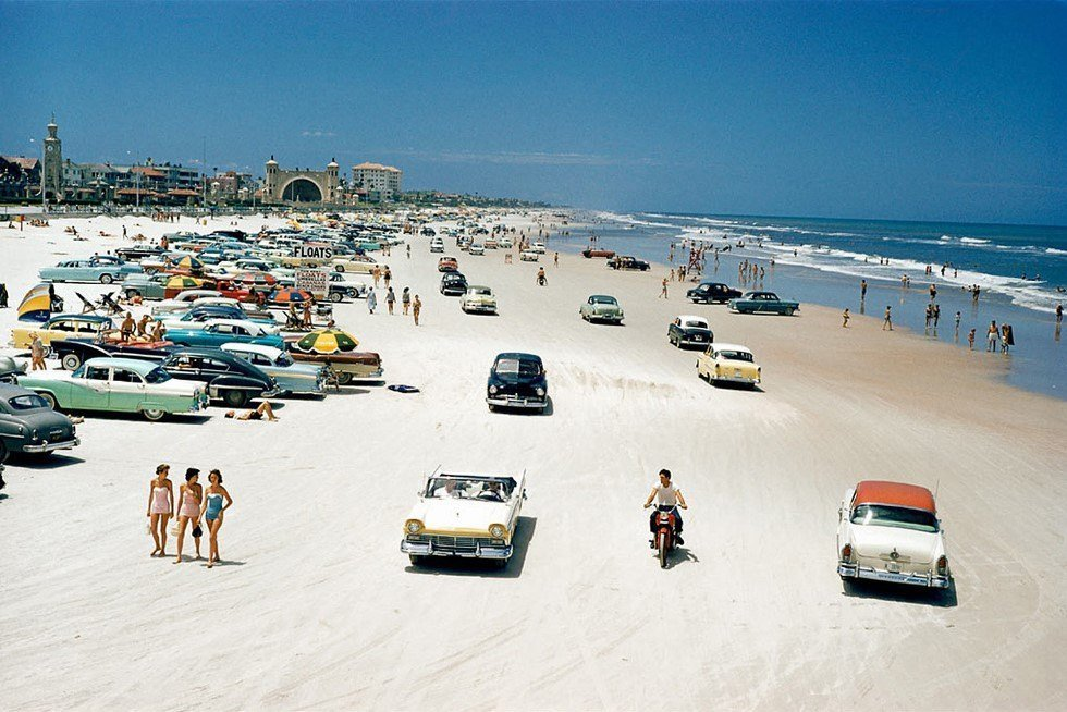 Daytona Beach 1957
