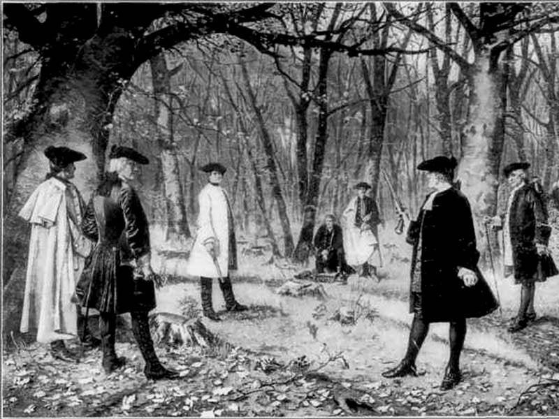 Famous Disputes Burr Hamilton