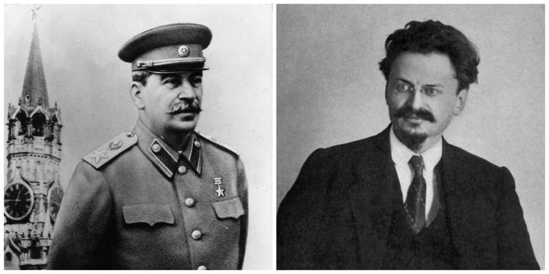 stalin vs trotsky Joseph stalin, the future leader of the soviet union, often referred to as the 'red   lenin was worried about the influence of trotsky and he employed stalin to.