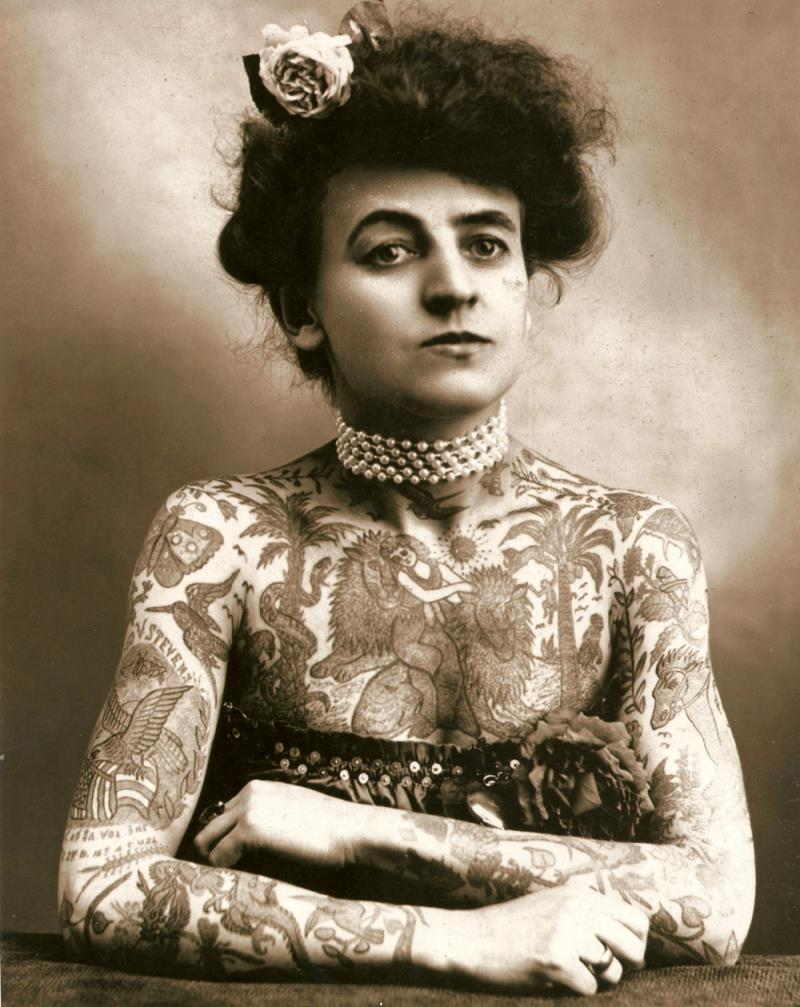 Maud Wagner Tattooed