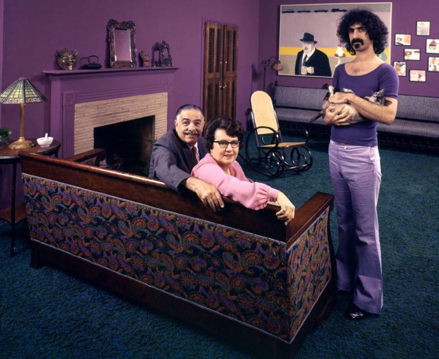 Frank Zappa Family Portrait 1970
