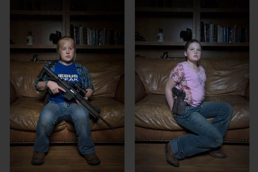 Gun Culture Little Girls