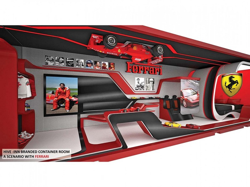 Ferrari-Branded Interior Design
