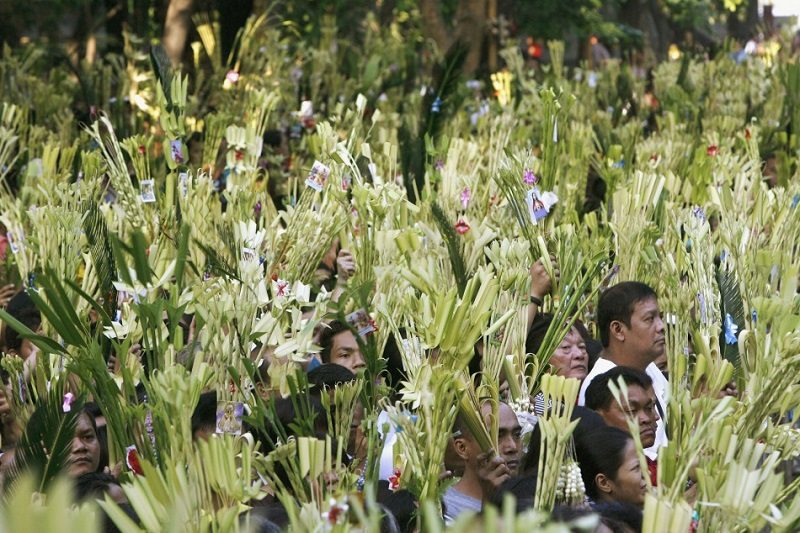 Palm Sunday in Philippines