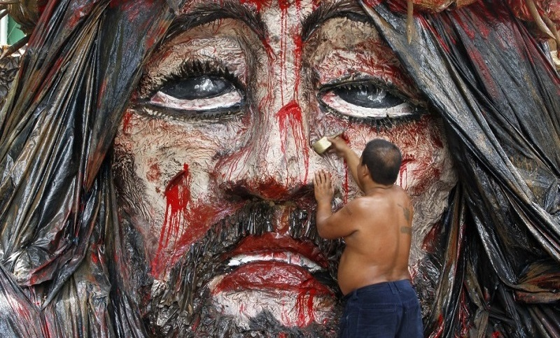 Holy Week Portrait of Jesus