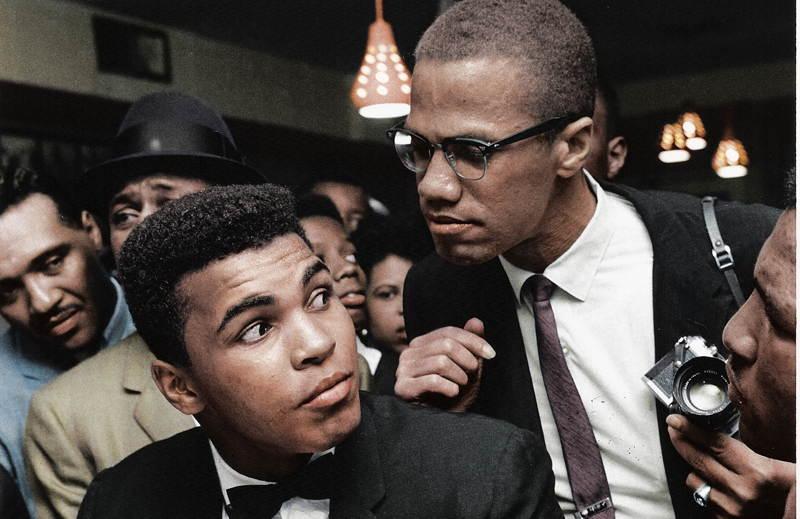 Color Malcolm X Muhammad Ali