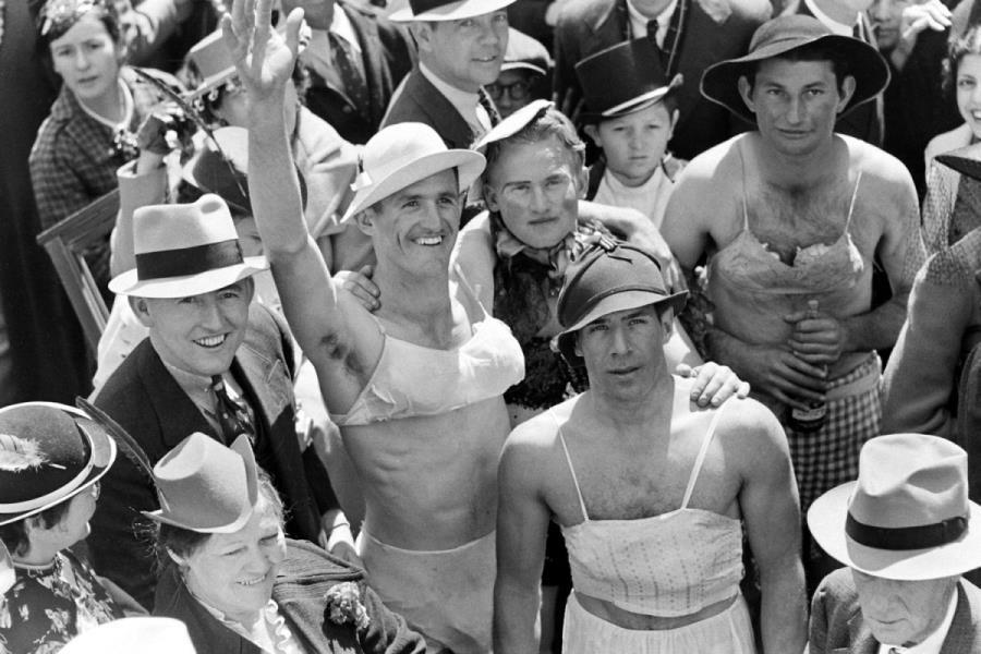 Mardi Gras New Orleans 1938