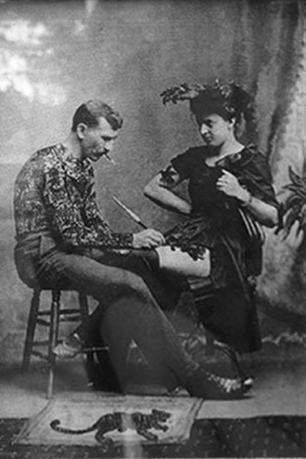 Gus Wagner Tattooing Maud Wagner