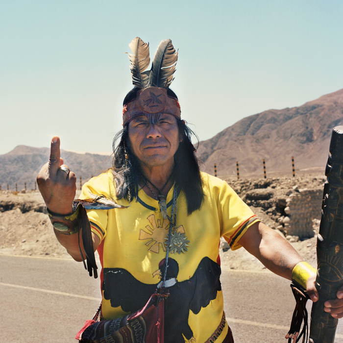 Middle Finger Peru