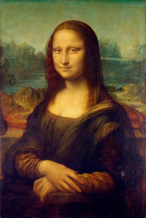 Mona Lisa Full Portrait