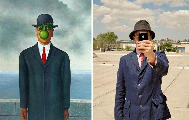 Remakes Magritte