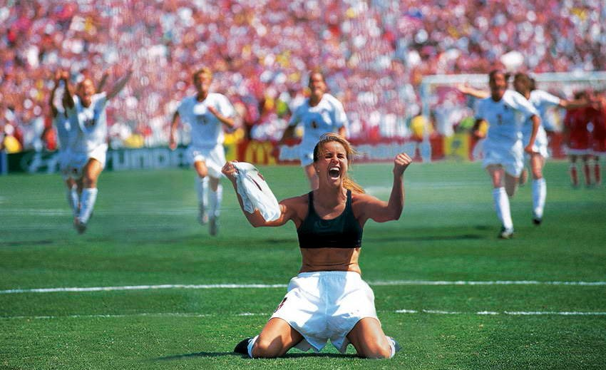 Sports Photos Brandi Chastain