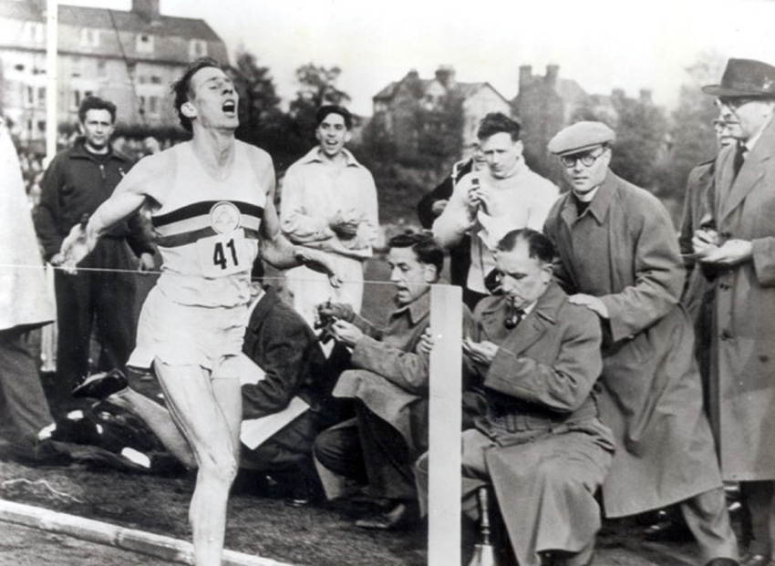 Sports Photos Four Minute Mile