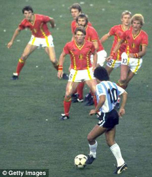 Sports Photos Maradona Belgium