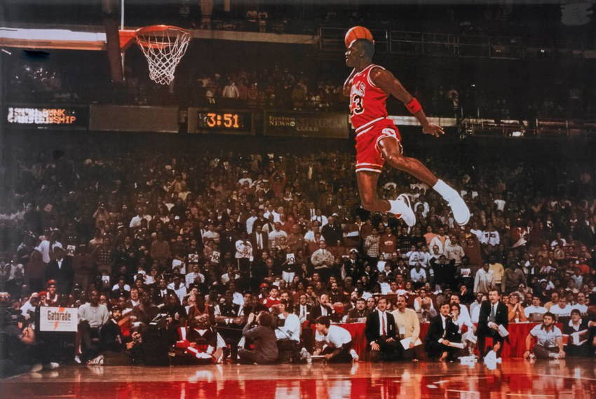 Sports Photos Dunk Jordan