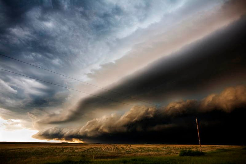 Storm Photography Seaman Ted Rolling Clouds