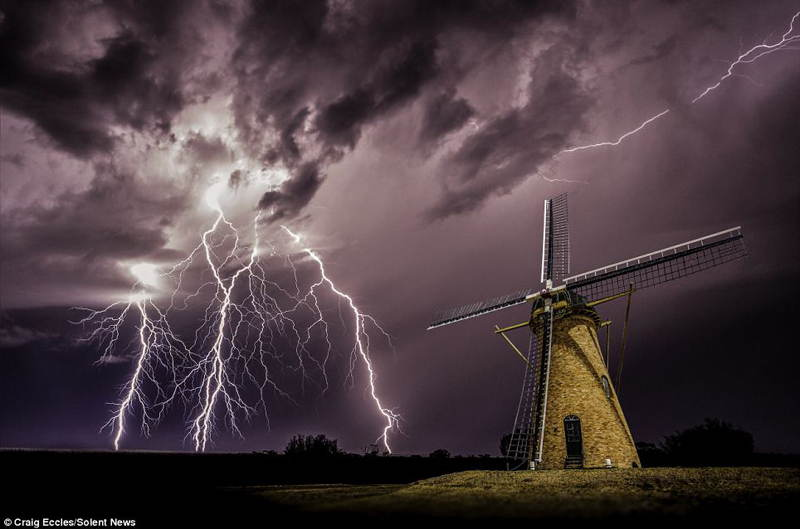 Storm Chaser Photography Eccles Windmill