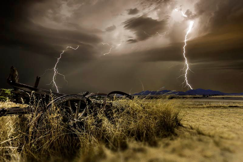 Storm Chaser Photography Eccles Lightning