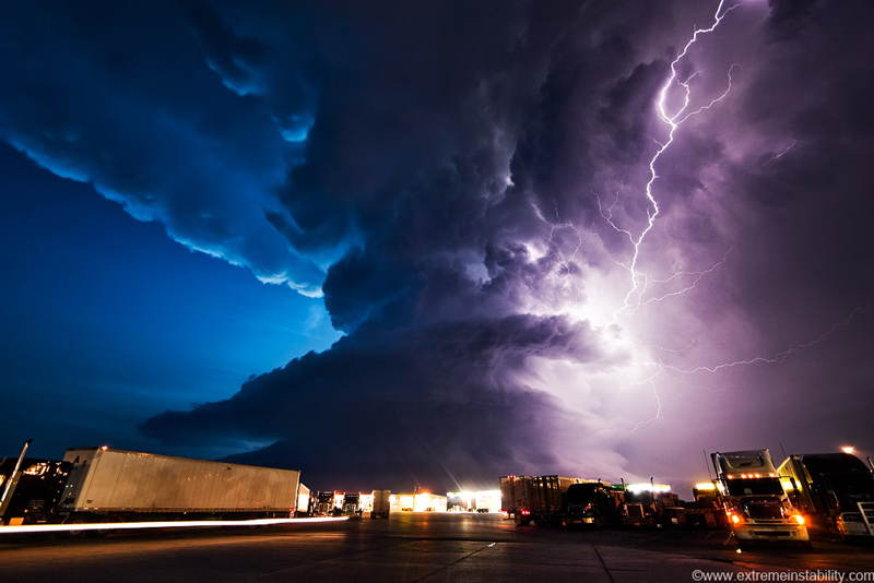 Mike Hollingshead Weather Photographs