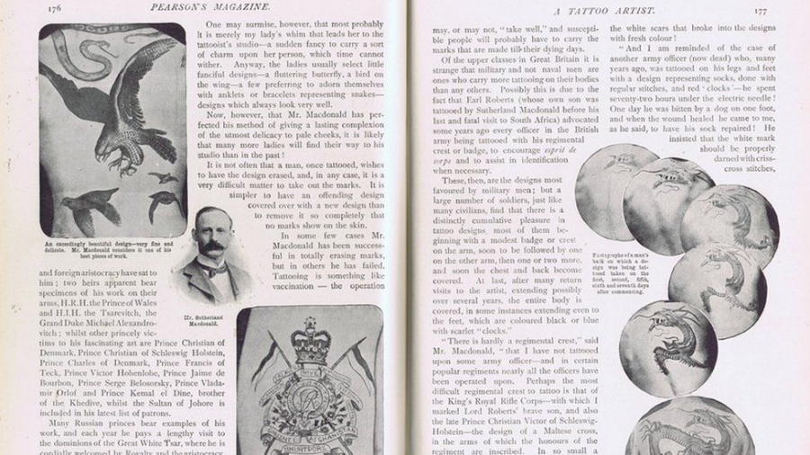 Tattoo Article From 1902