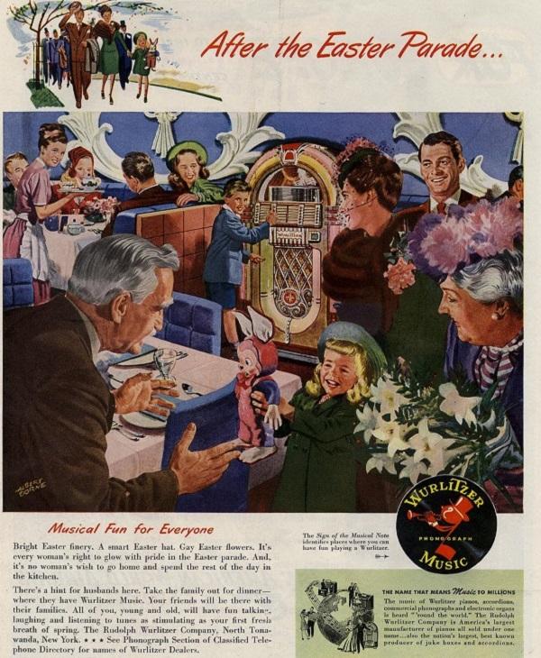 Vintage Easter Advertisements