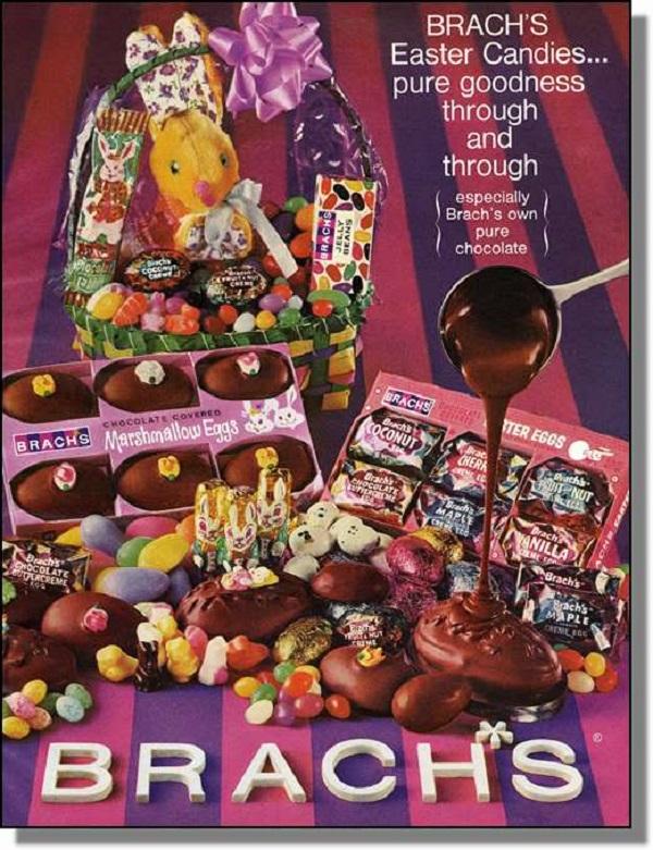 Vintage Brach's Ad 1968