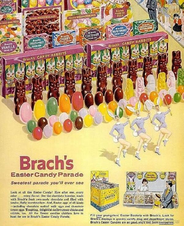 Vintage Brach's Ad