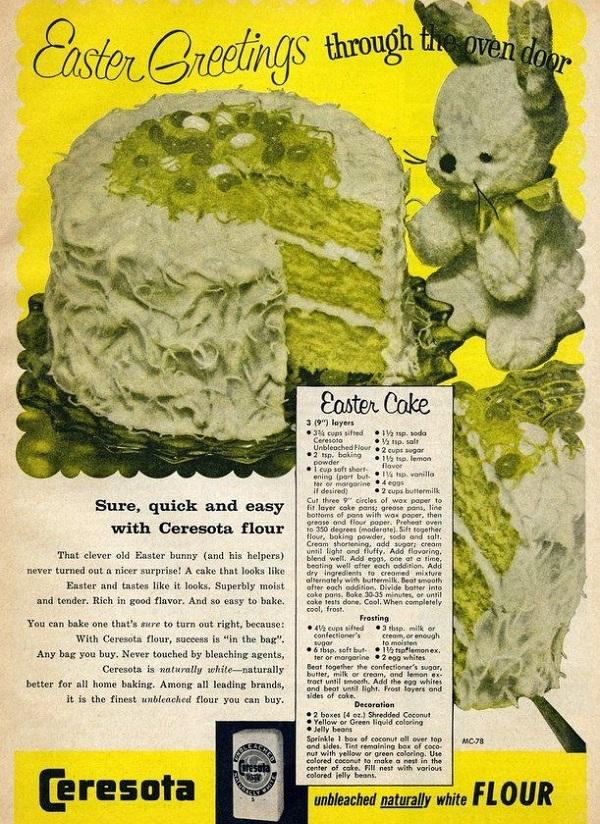 Vintage Cake Recipe