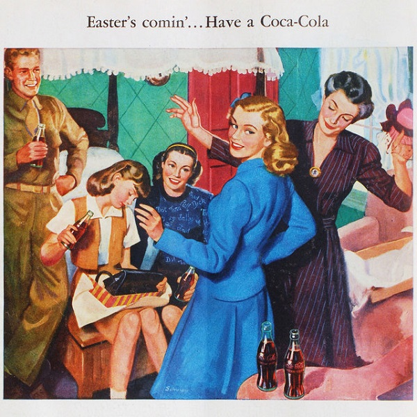 Coca-Cola Vintage Ad