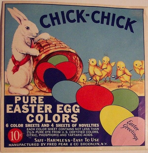 Vintage Easter Egg Coloring Pack