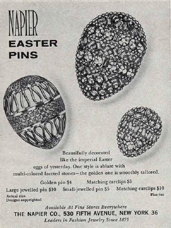 Vintage Jewelry Advertisement