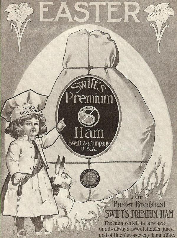 Vintage Easter Ham Ad