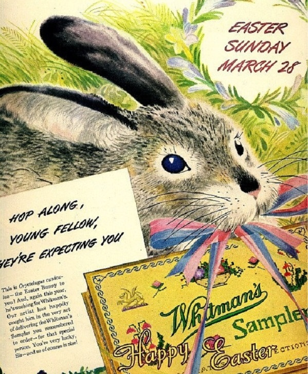 Whitman's Chocolate Ad 1948