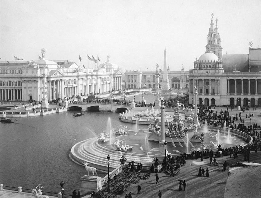 Chicago World's Fair 1893 White City