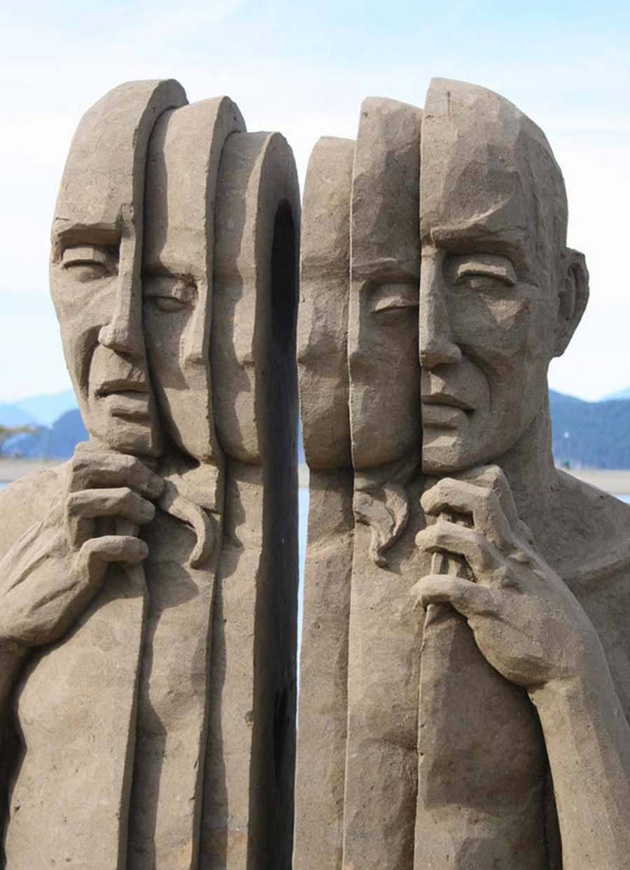 Carl Jara Sand Art