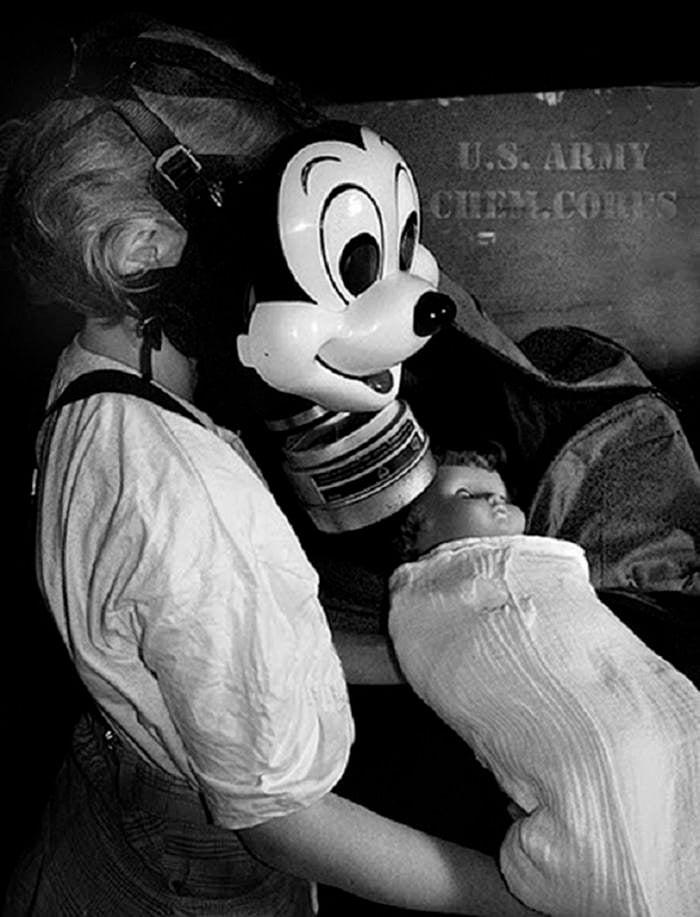 Creepy Masks Mickey Gas