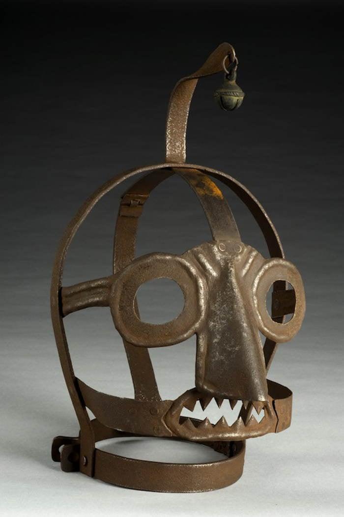 Creepy Masks Scolds Bridle