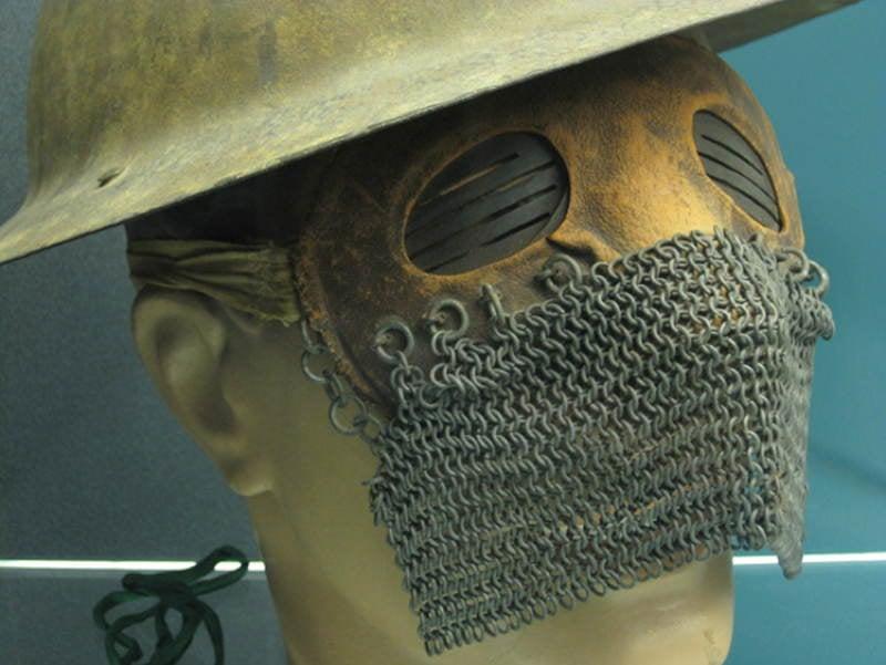 Creepy Masks Splatter Mask