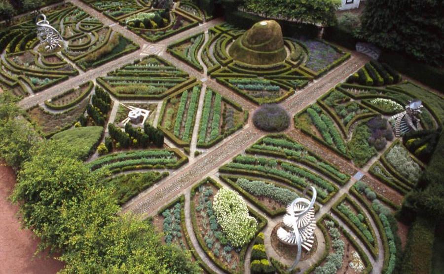 Charles Jencks Mystic Garden