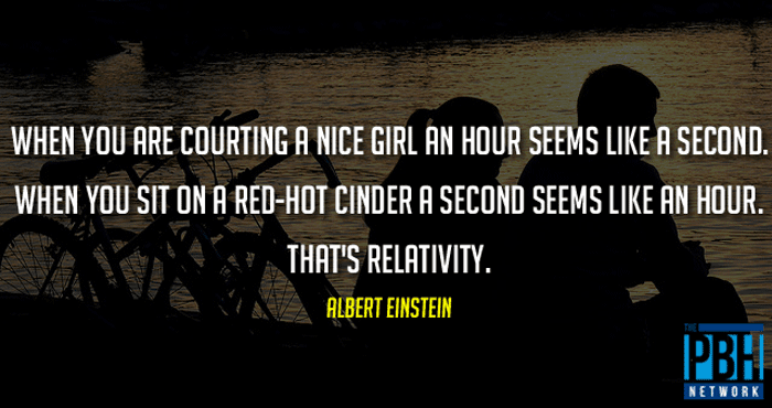 Albert Einstein Quote On Relativity