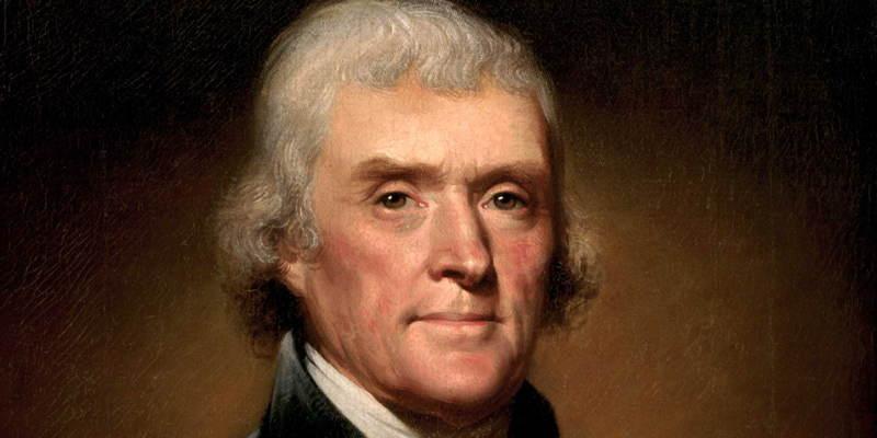 American History Thomas Jefferson
